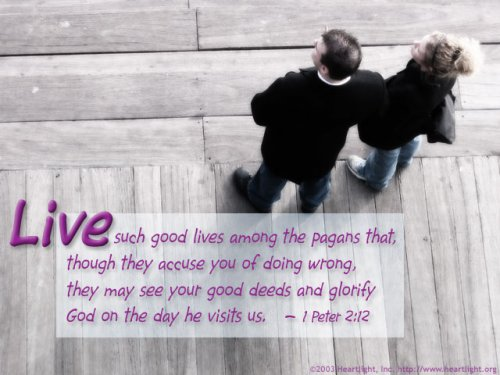 Bible Verse of the Day - Page 10 1peter2_12