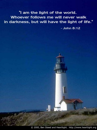Bible Verse of the Day - Page 11 John8_12